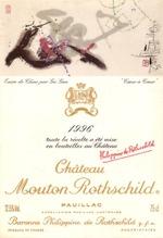 1996chateaumoutonrothschild
