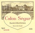 2006chateaucalonsegur